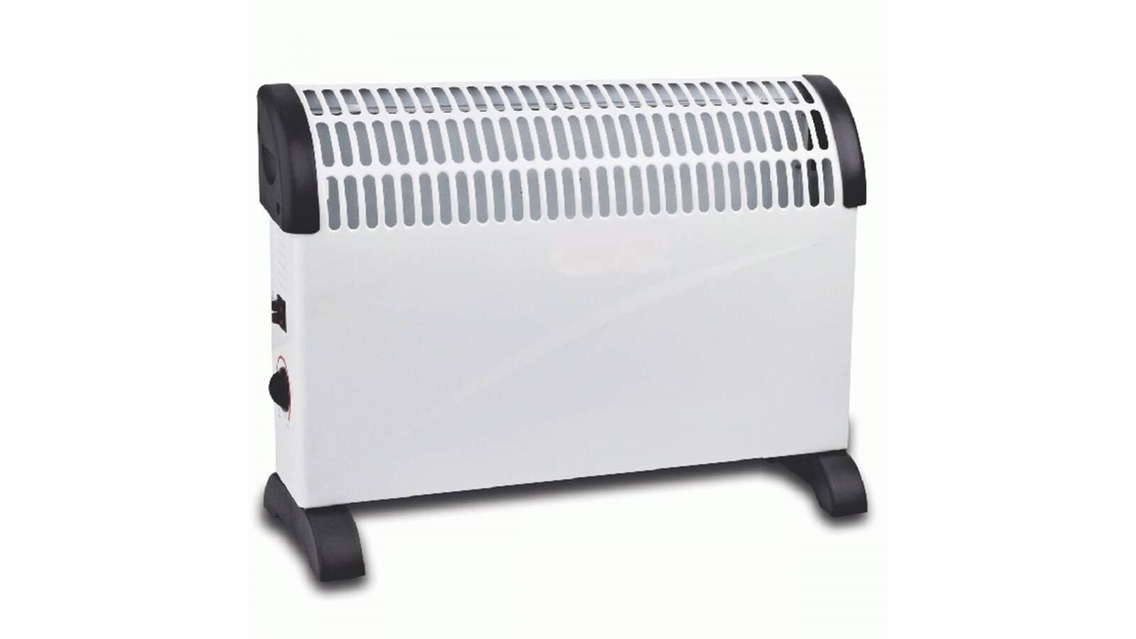 Calefactor convector de 3 niveles