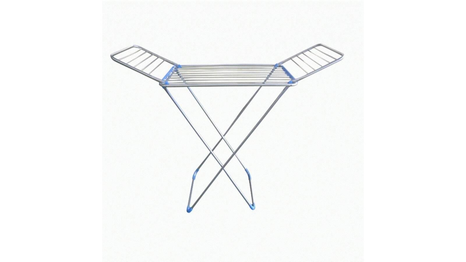 Tendedero de pie fabricado en aluminio