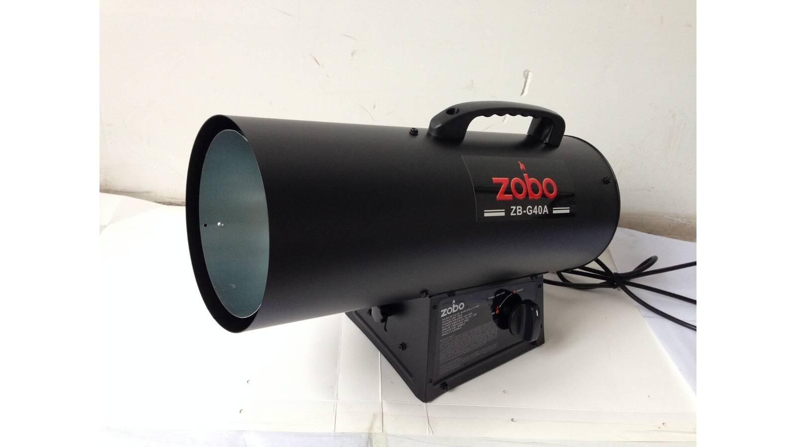 Cañon de calor  a gas 40.000 BTU
