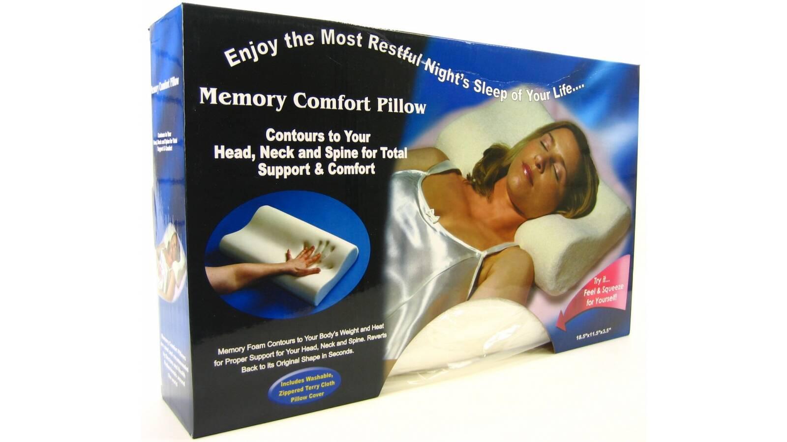 Almohada confort con memoria