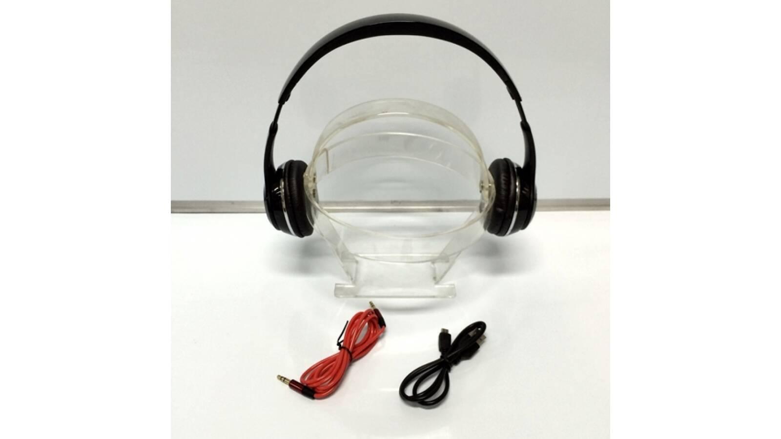 Auriculares Bluetooth, FM, MP3, recibe llamadas