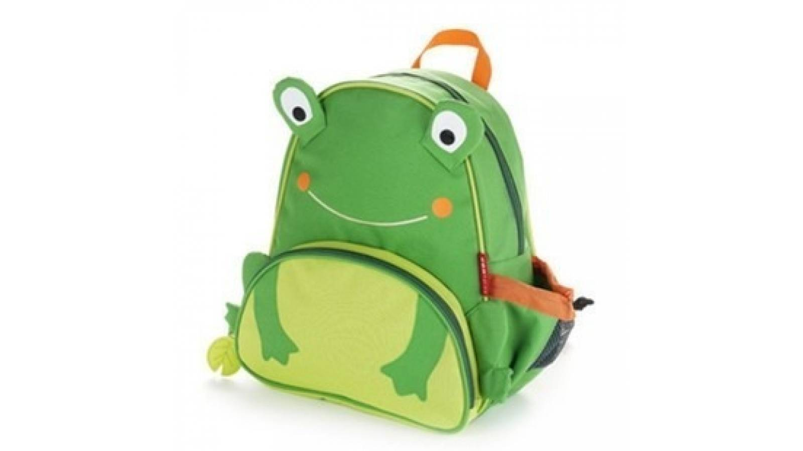 Mochila escolar infantil con diseño de rana