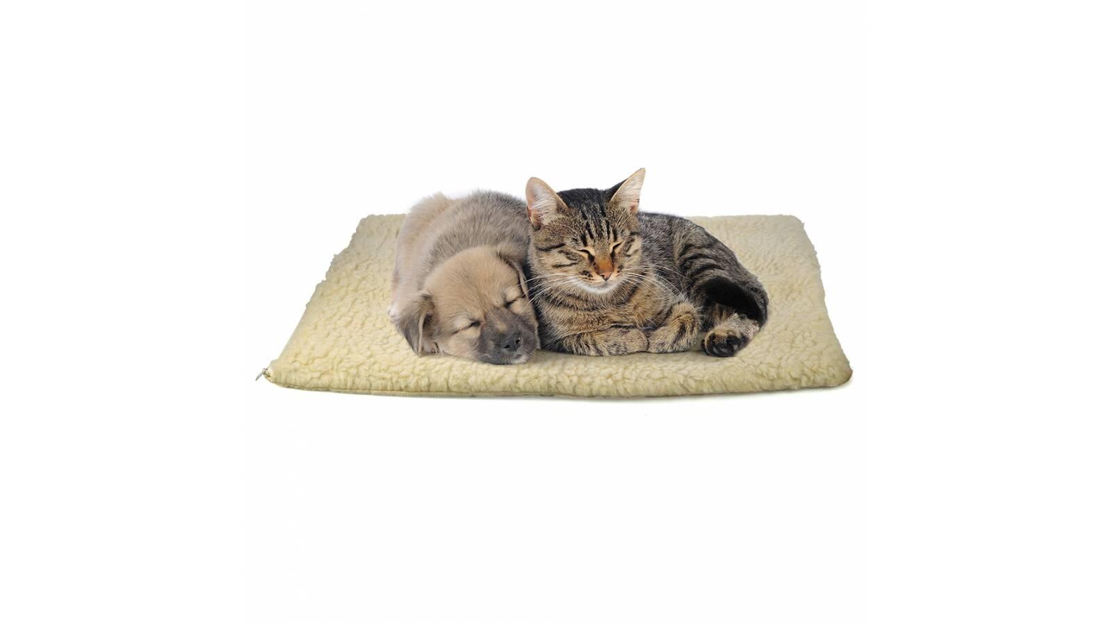 Cama alfombra para mascotas 58 x 46 cm