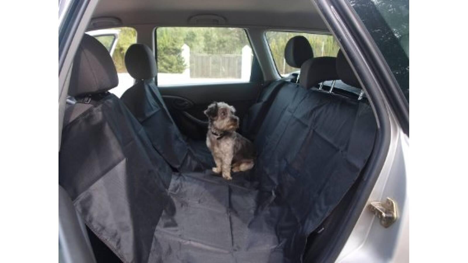 Cubre asiento de auto para mascotas 2 plazas