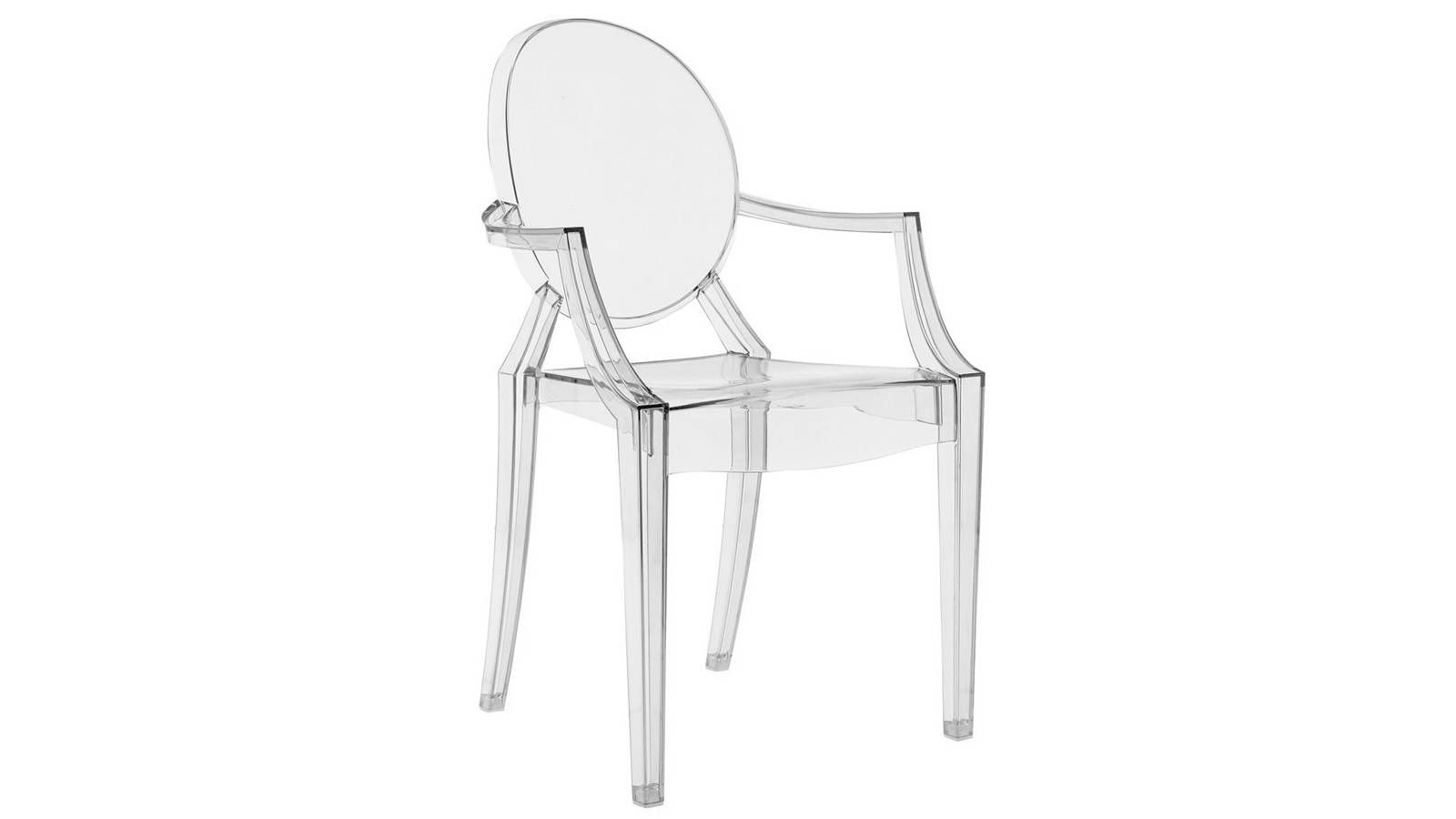 Silla Louis Ghost transparente. Phillippe Starck