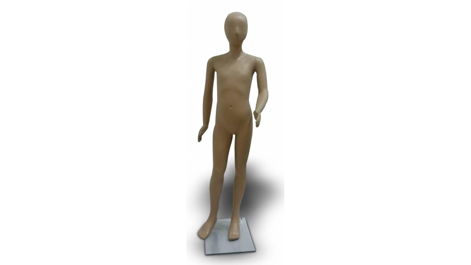 Maniqui de niño. 110 cm de altura.