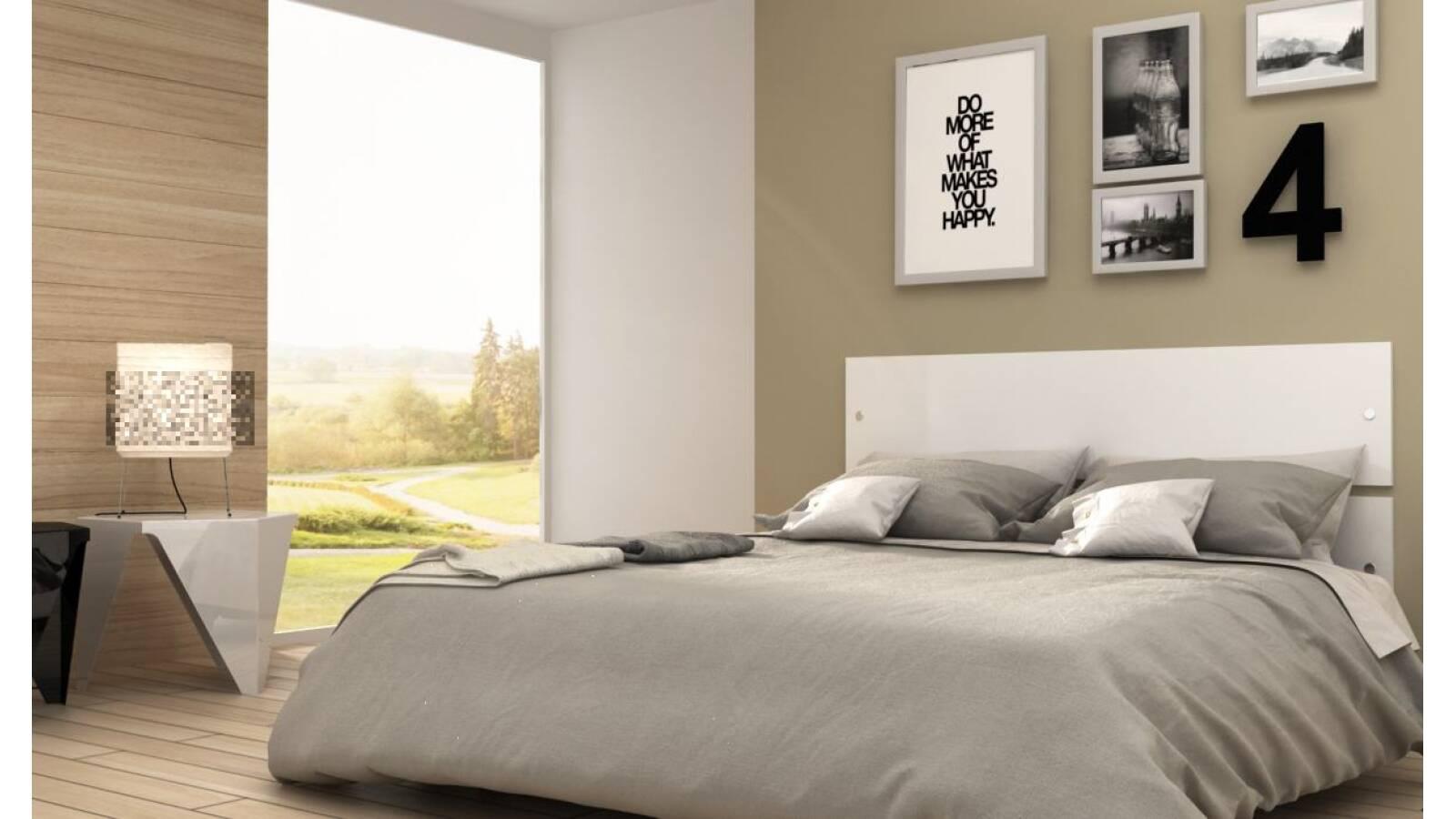 Respaldo para cama de dos plazas - sommier