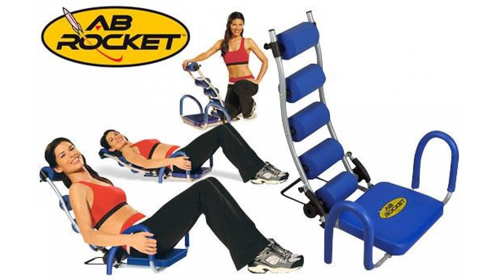 Silla de ejercicios abdominales AB ROCKET
