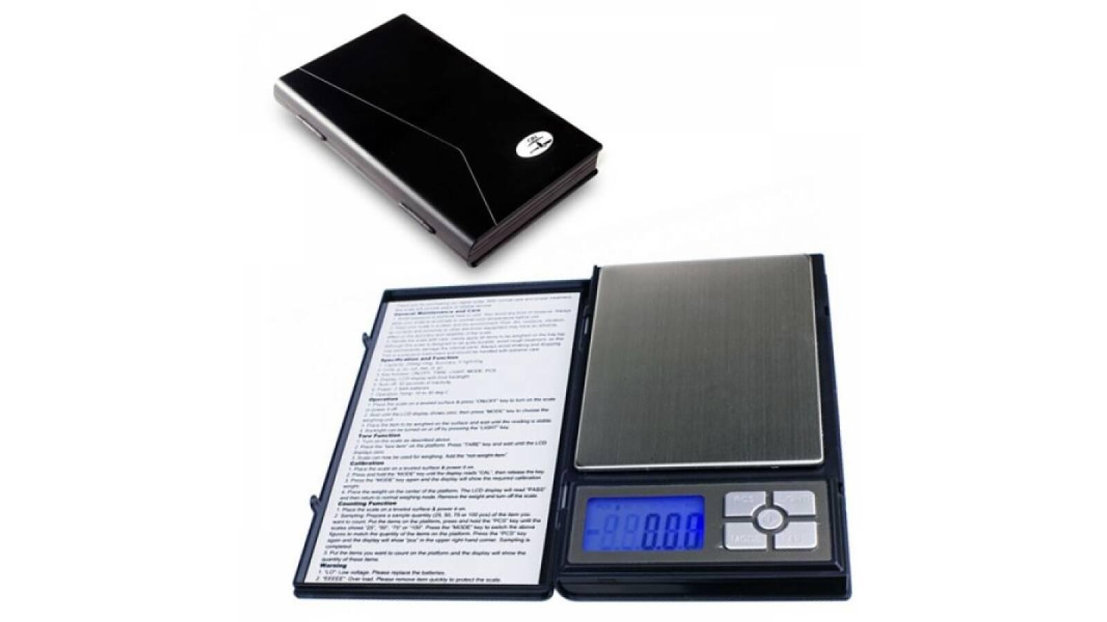 Balanza de precision de bolsillo. 0,1 a 2.000 grs