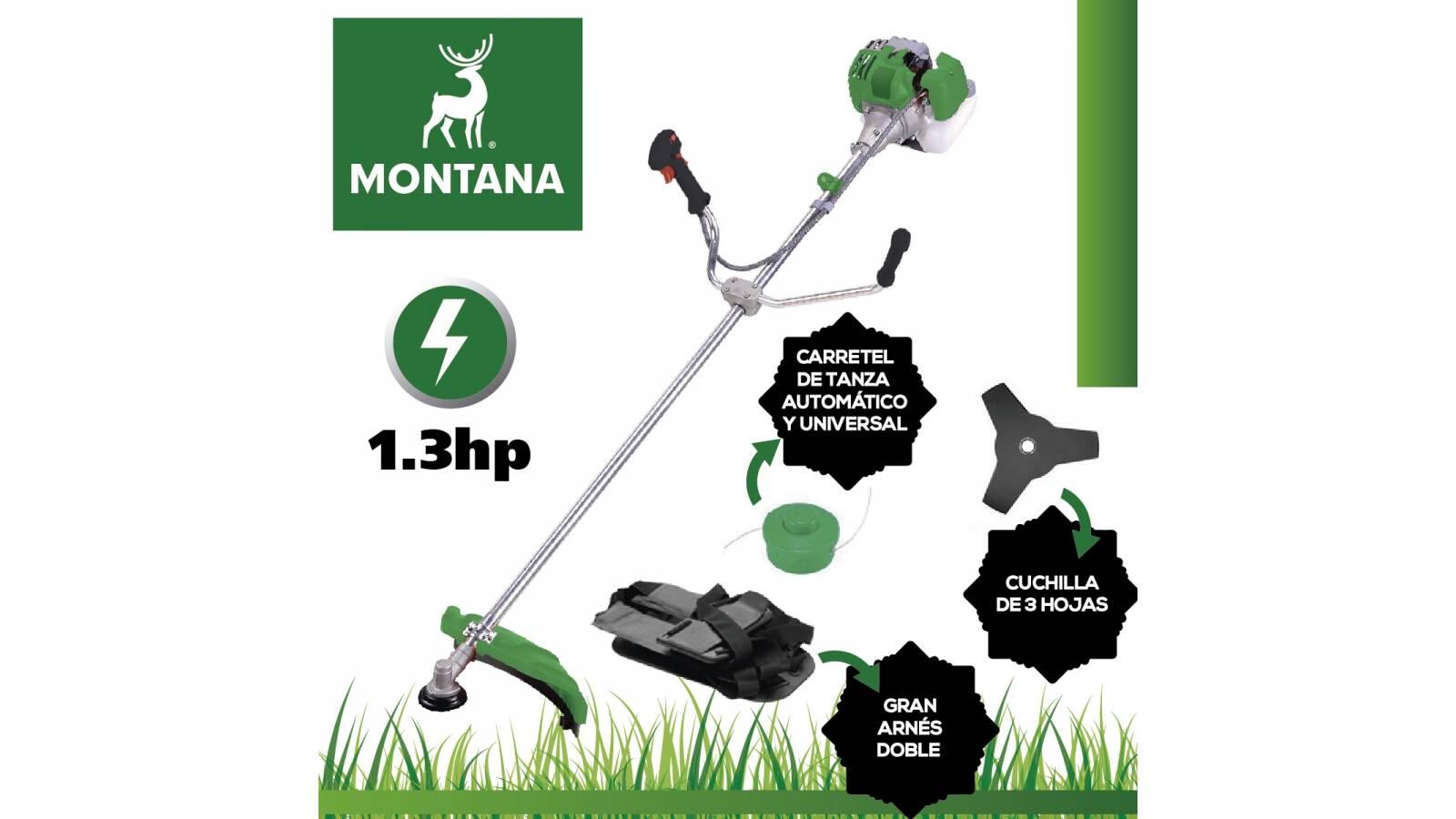 Desmalezadora Montana 33 cc. Oferta de temporada!
