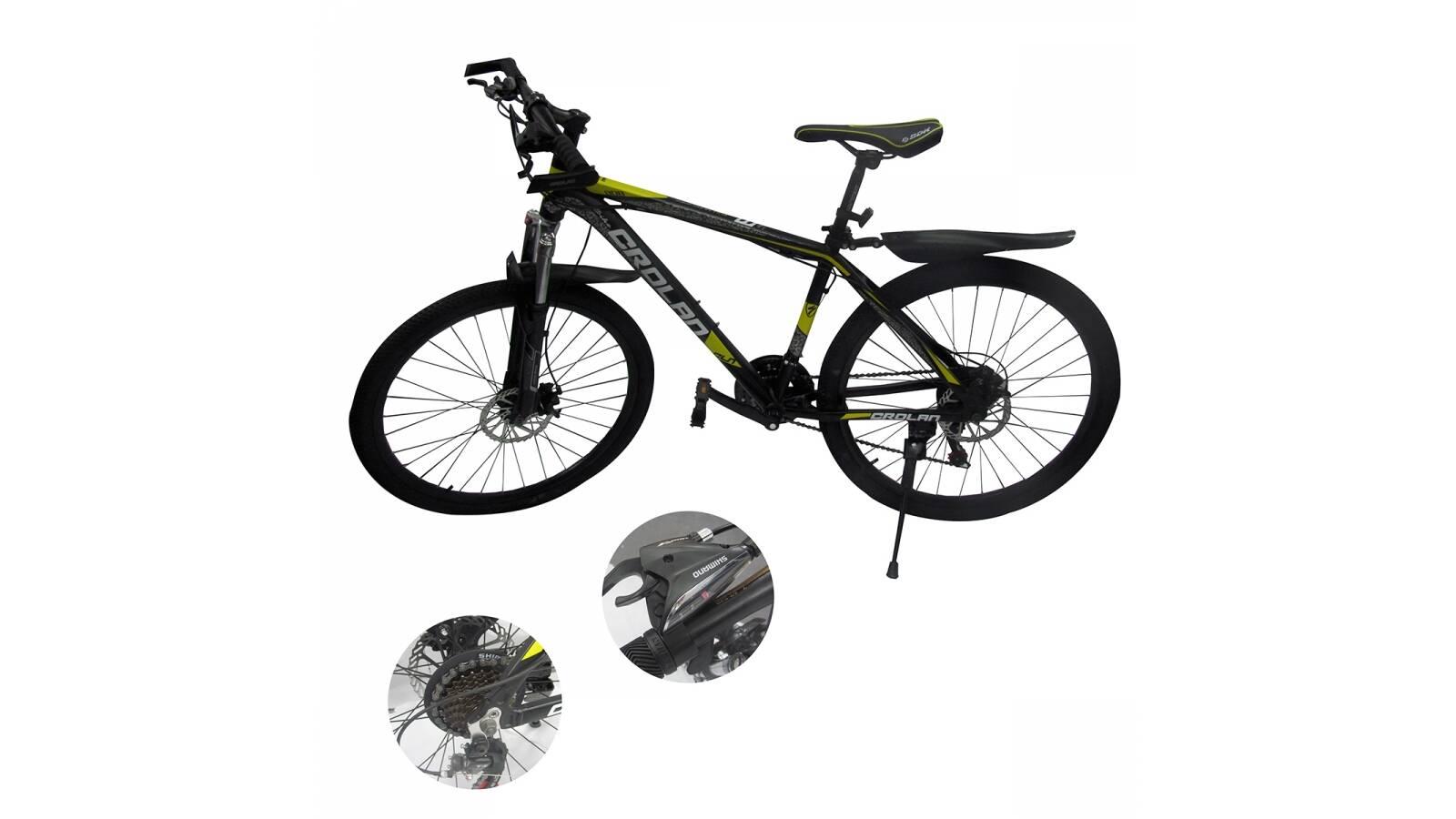 """Bicicleta montaña rodado 26"""" con cuadro aluminio"""