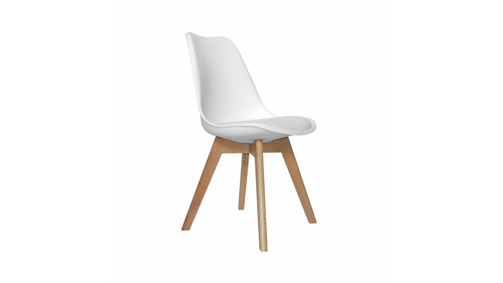 Silla New Tower (tipo Eames acolchonada)