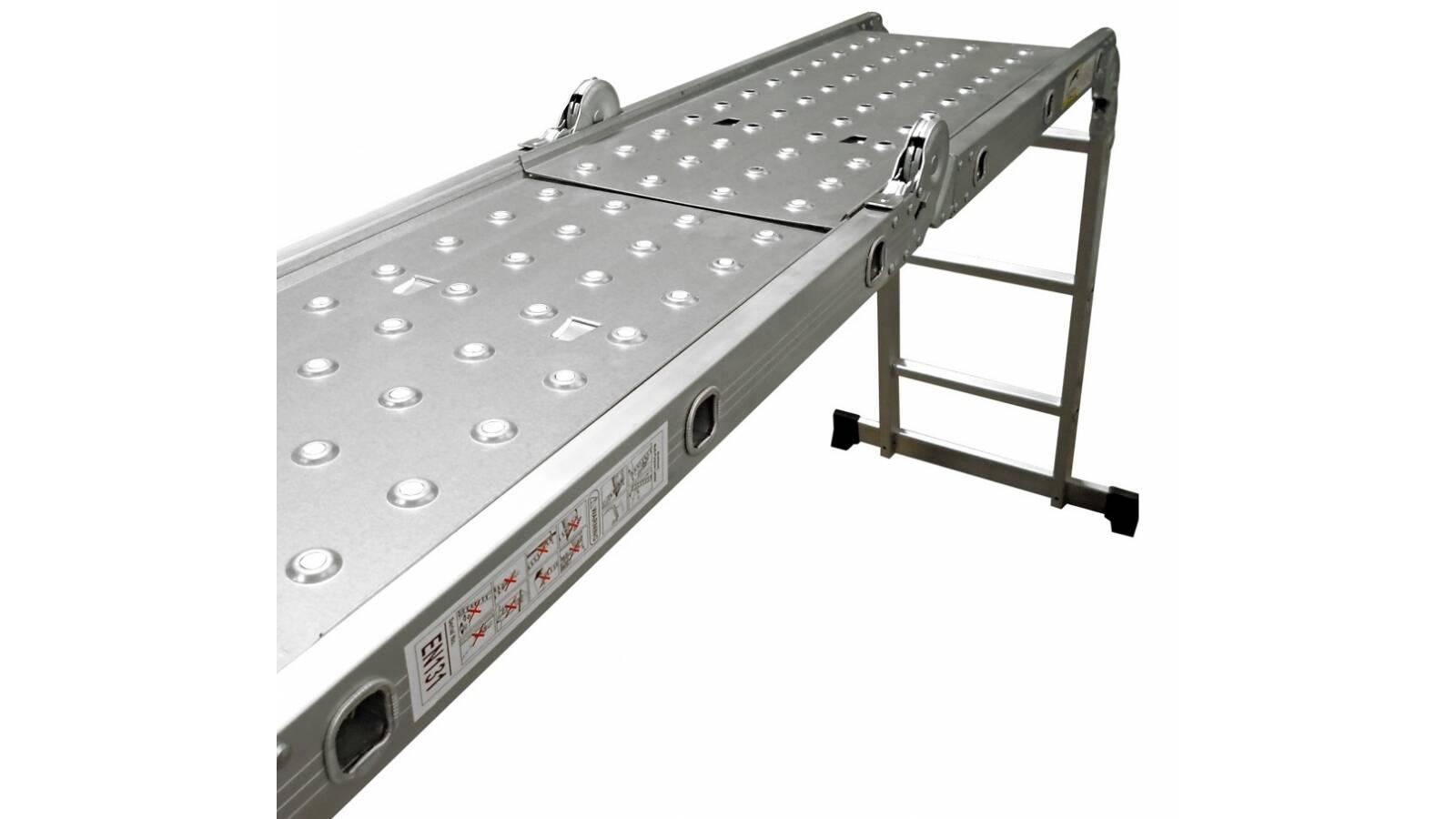 Plataforma para escalera multifuncion de 4,60 m - chapones