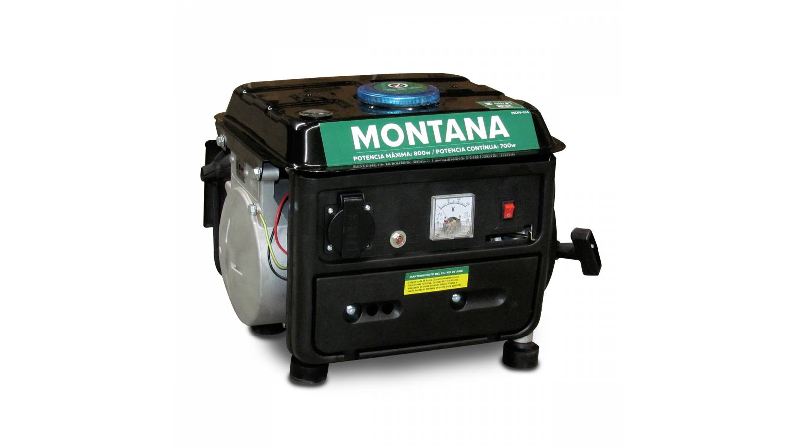 Generador Montana 800 W ( Motor 2 tiempos 63 cc )