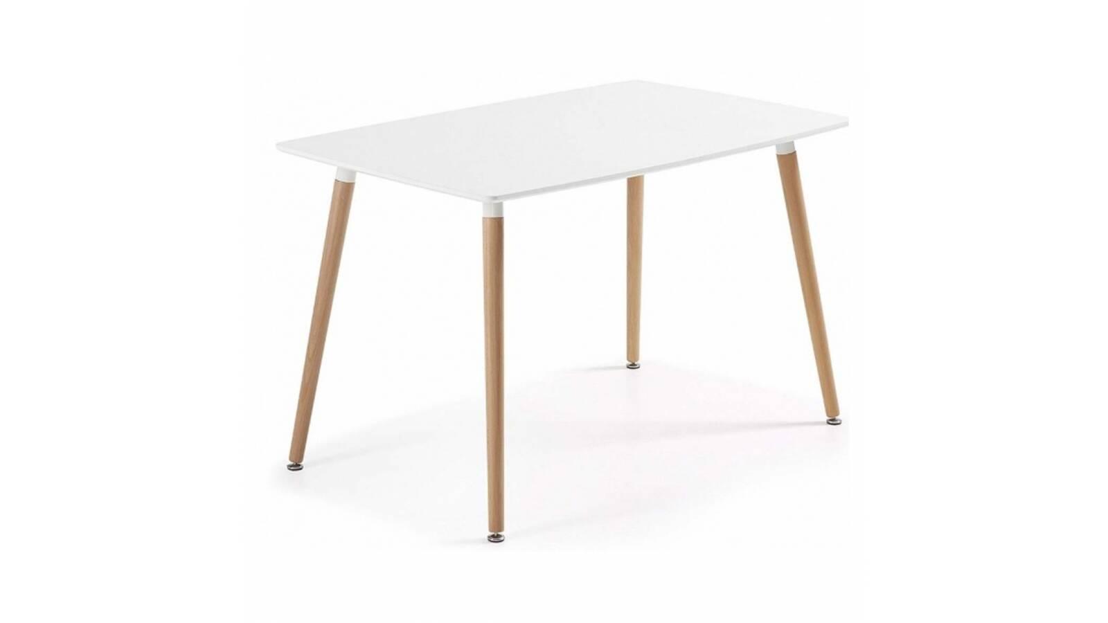 Mesa rectangular Eames Blanca 120 x 80 cm