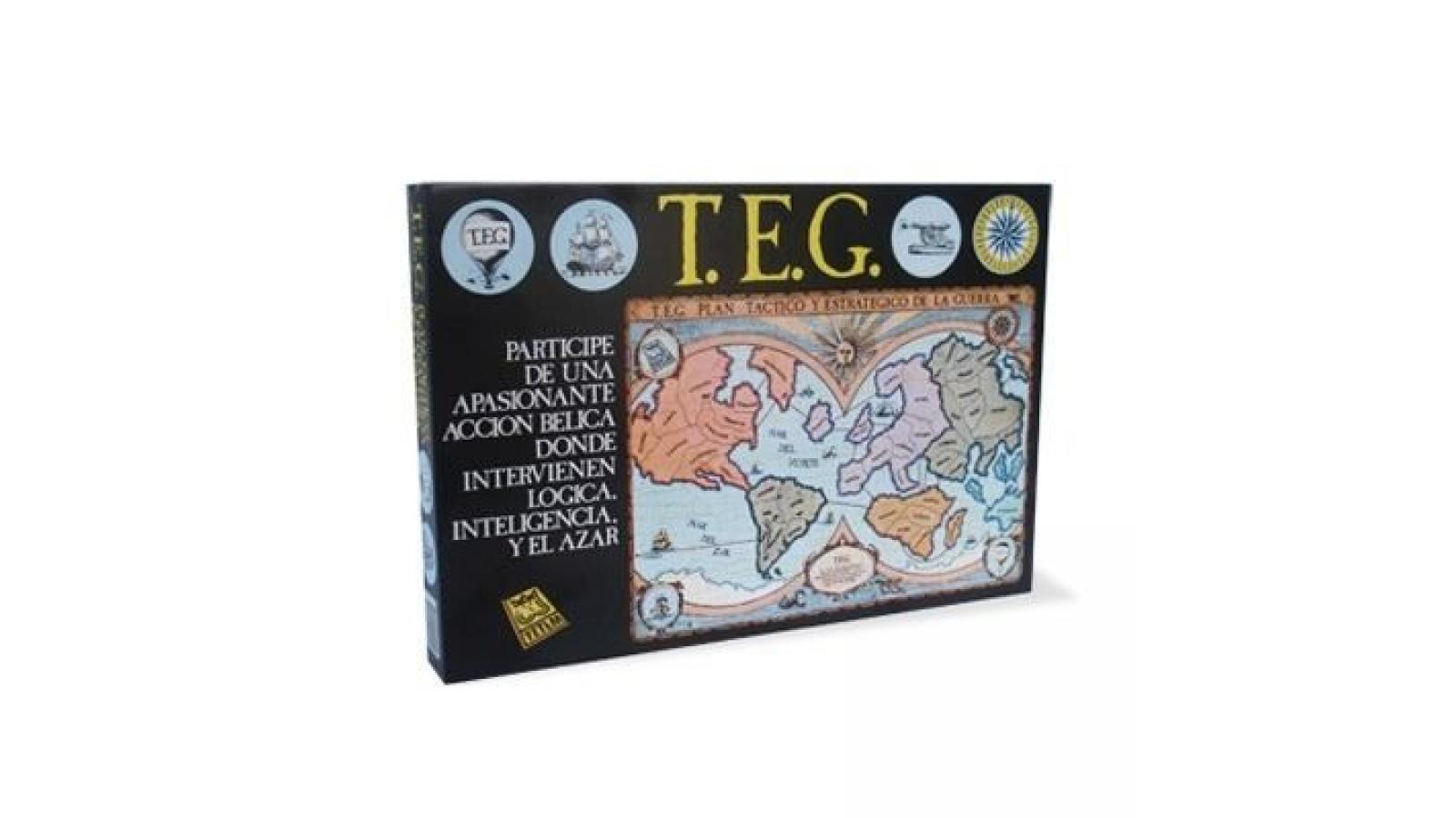 Juego de caja - TEG ( tactica de guerra / War )