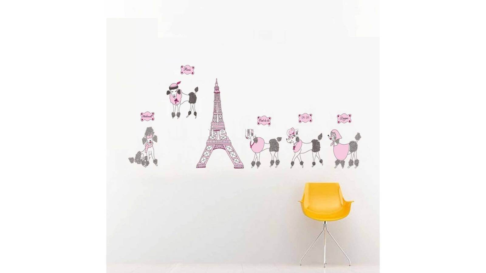 "Vinilo decorativo ""Torre Eiffel Paris"" - Papel tapiz adhesivo pared"