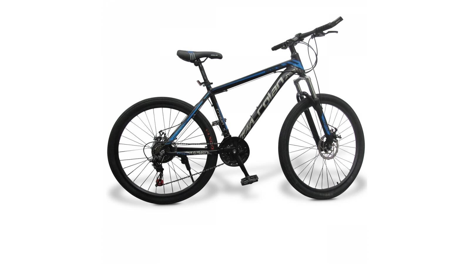 """Bicicleta Montaña Crolan Cuadro De Aluminio 26 """""""