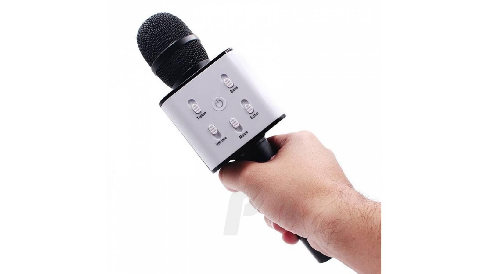 Microfono karaoke bluetooth con parlante niña - NEGRO