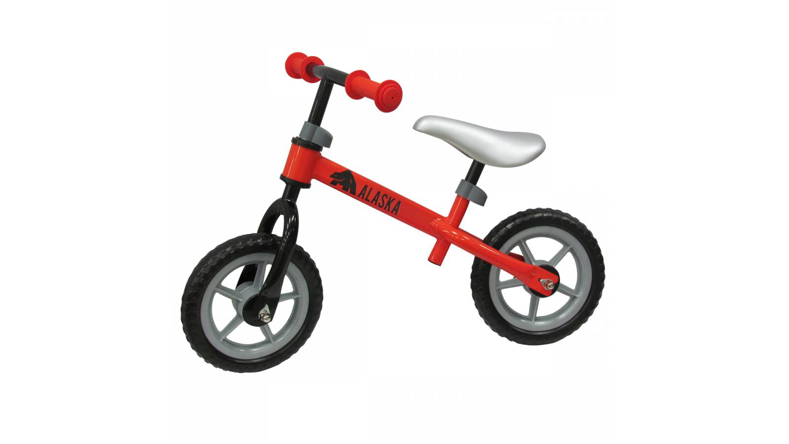 Bicicleta para niños sin pedales en metal