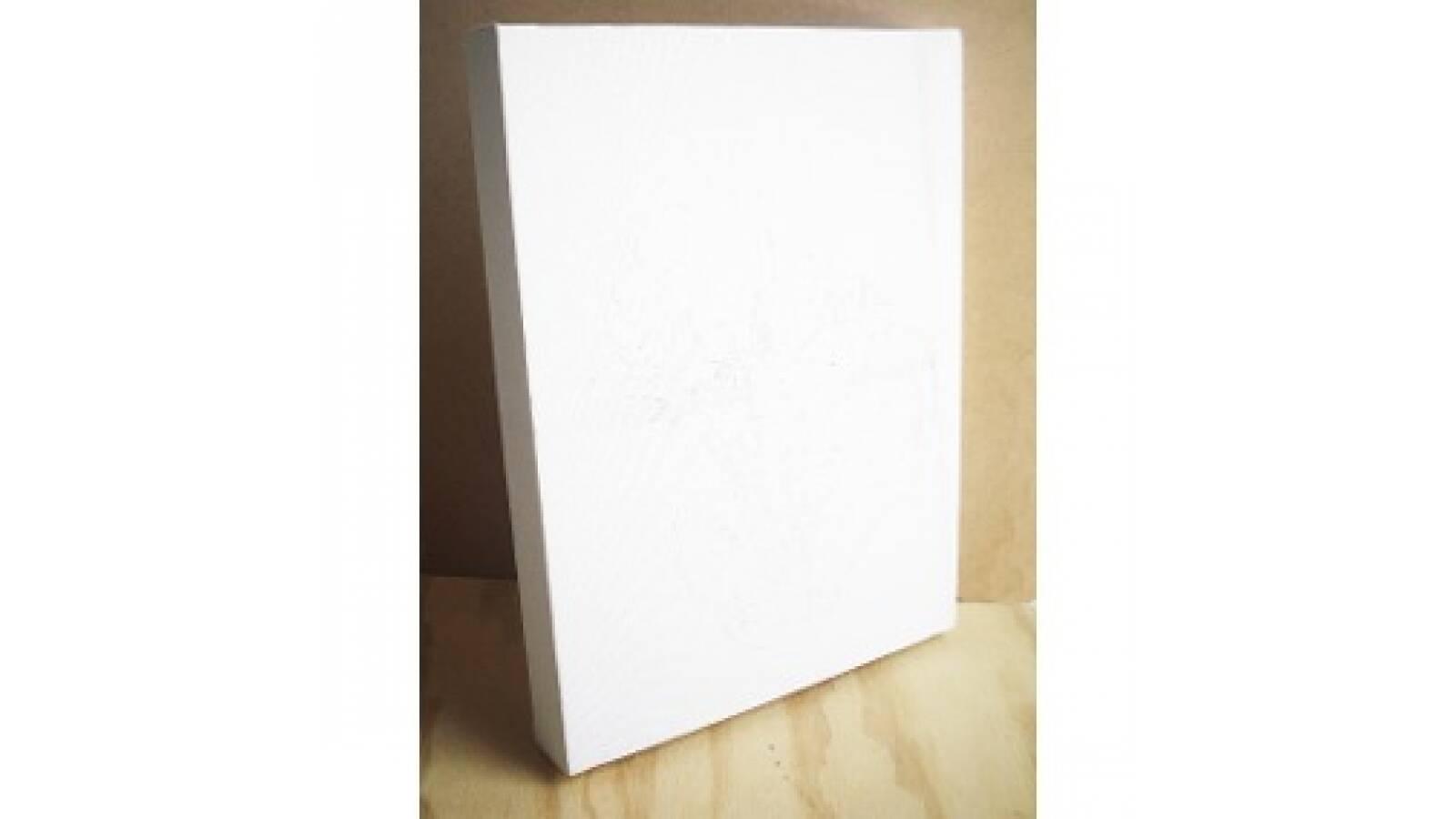 Lienzo cuadro blanco con bastidores canvas 50 x 60 cm