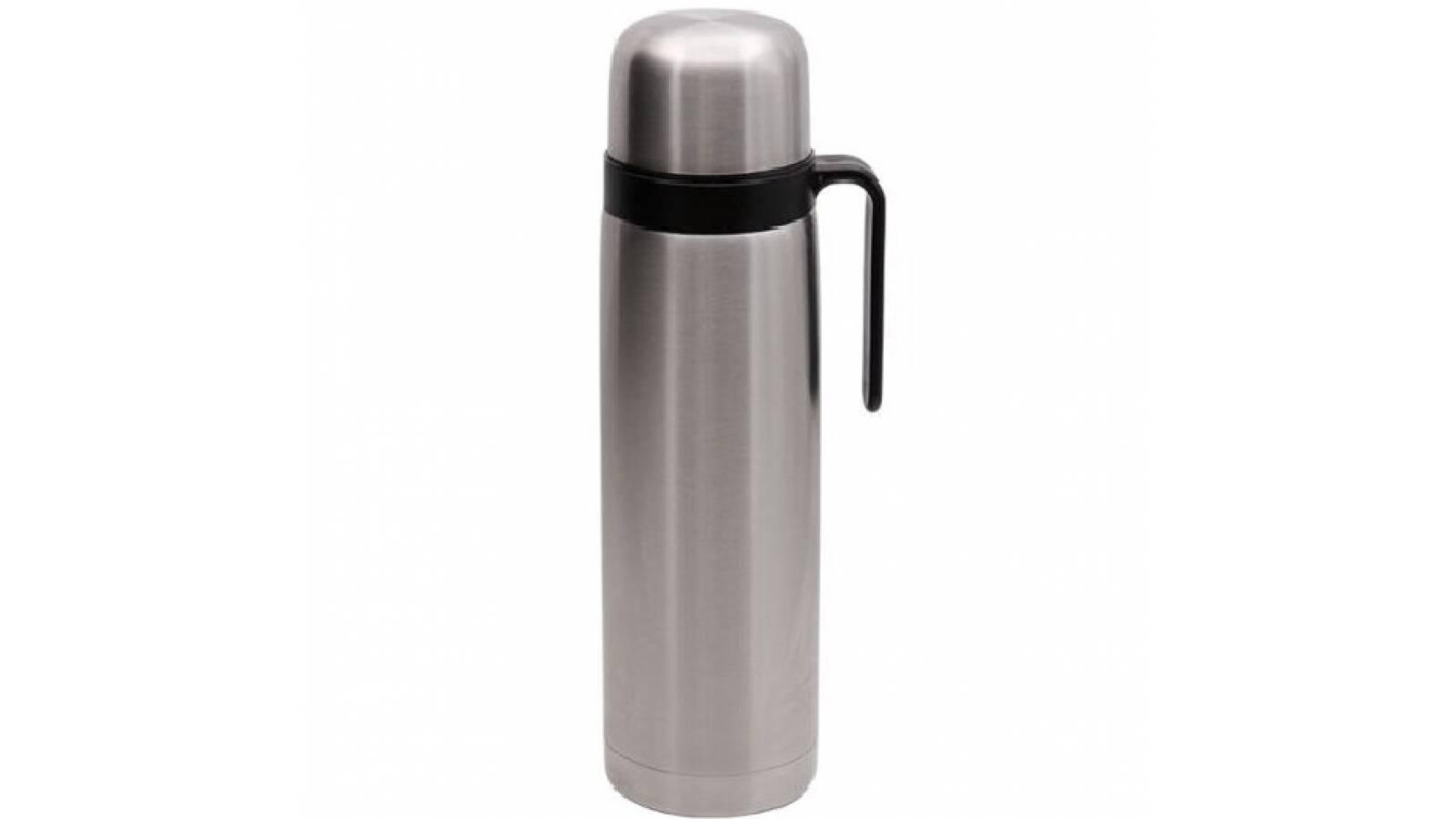 Termo acero inox 1 litro - conserva temperatura mate