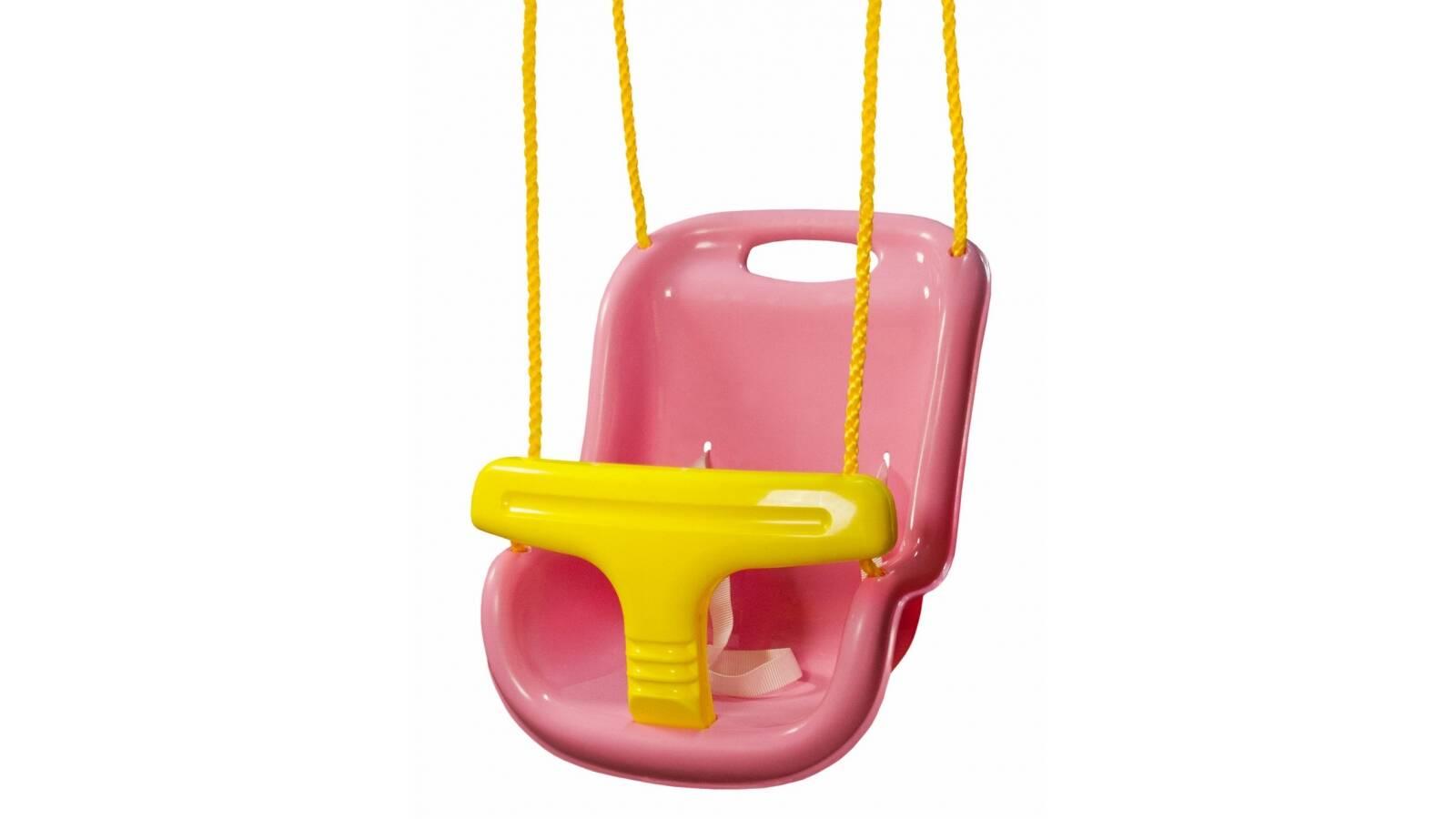 Hamaca plastica para niños (rosada)