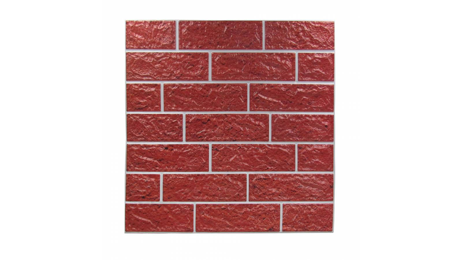 Revestimiento autodhesivo 3d Ladrillo Rojo - Pared wallpaper papel tapiz