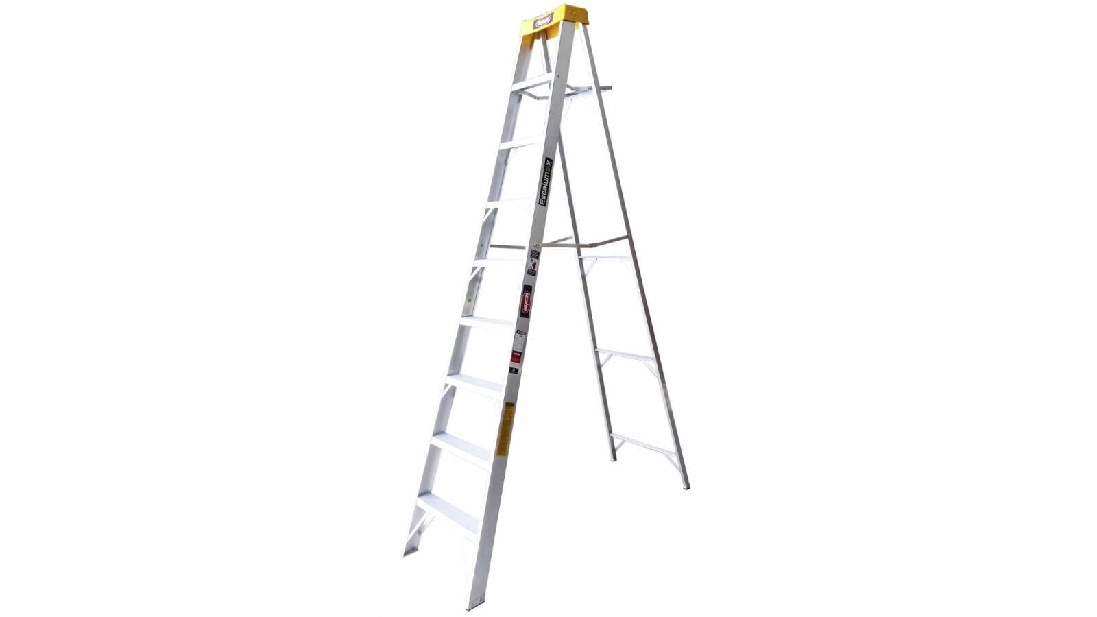 Escalera tijera de aluminio Escalumex 8 peldaños