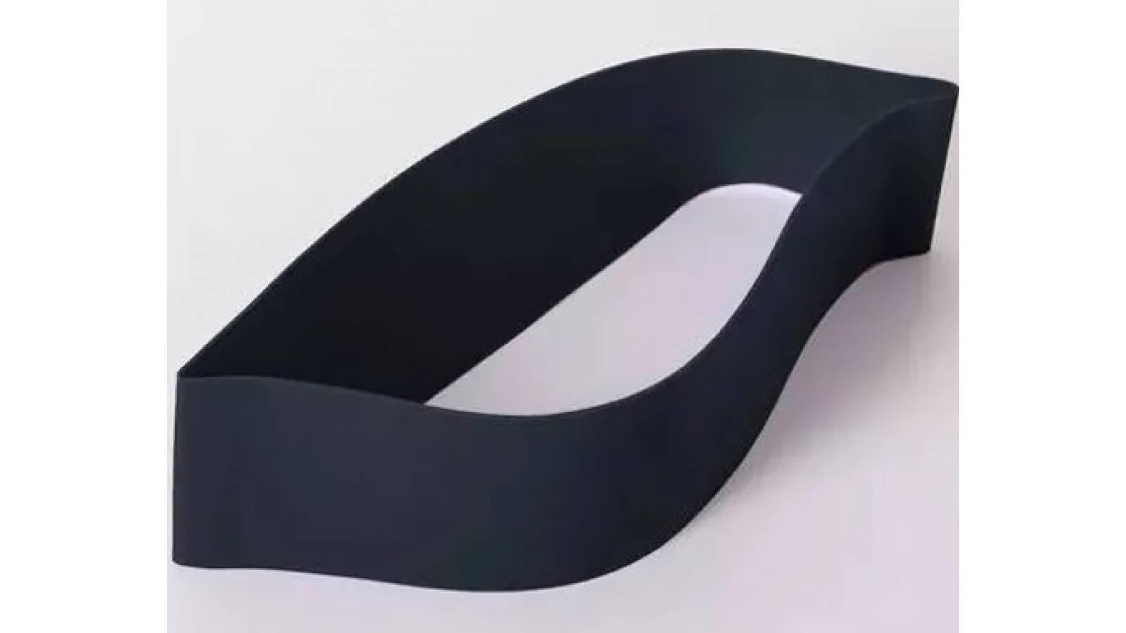 Banda Elastica Cerrada / Mini band circular int. alta NEGRA