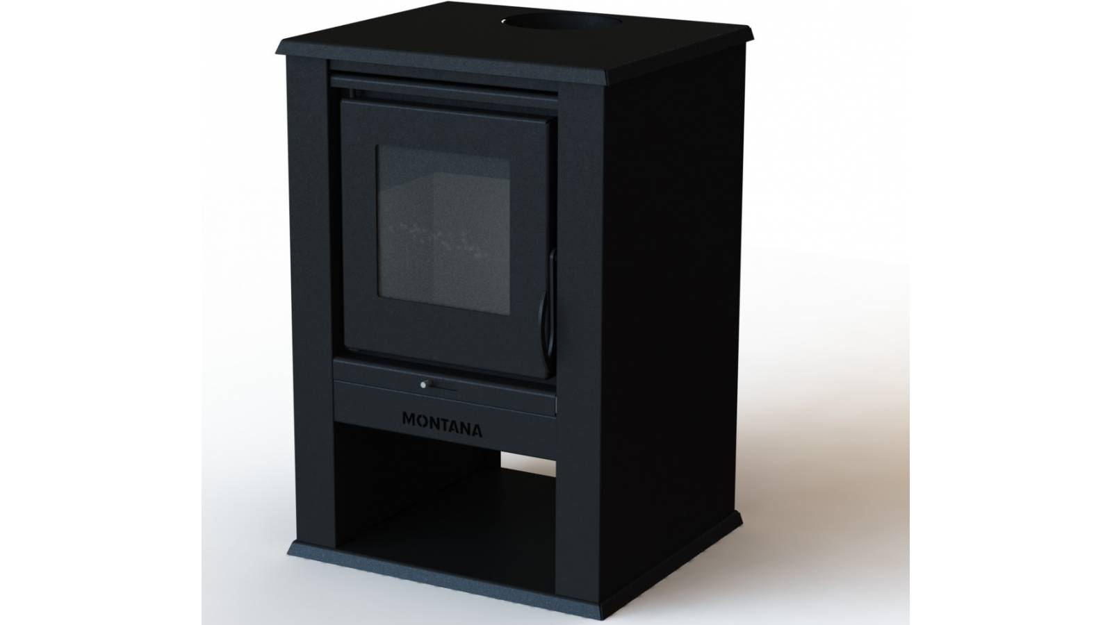 Estufa calefaccion a leña 12 KW - Cubre hasta 124 m2