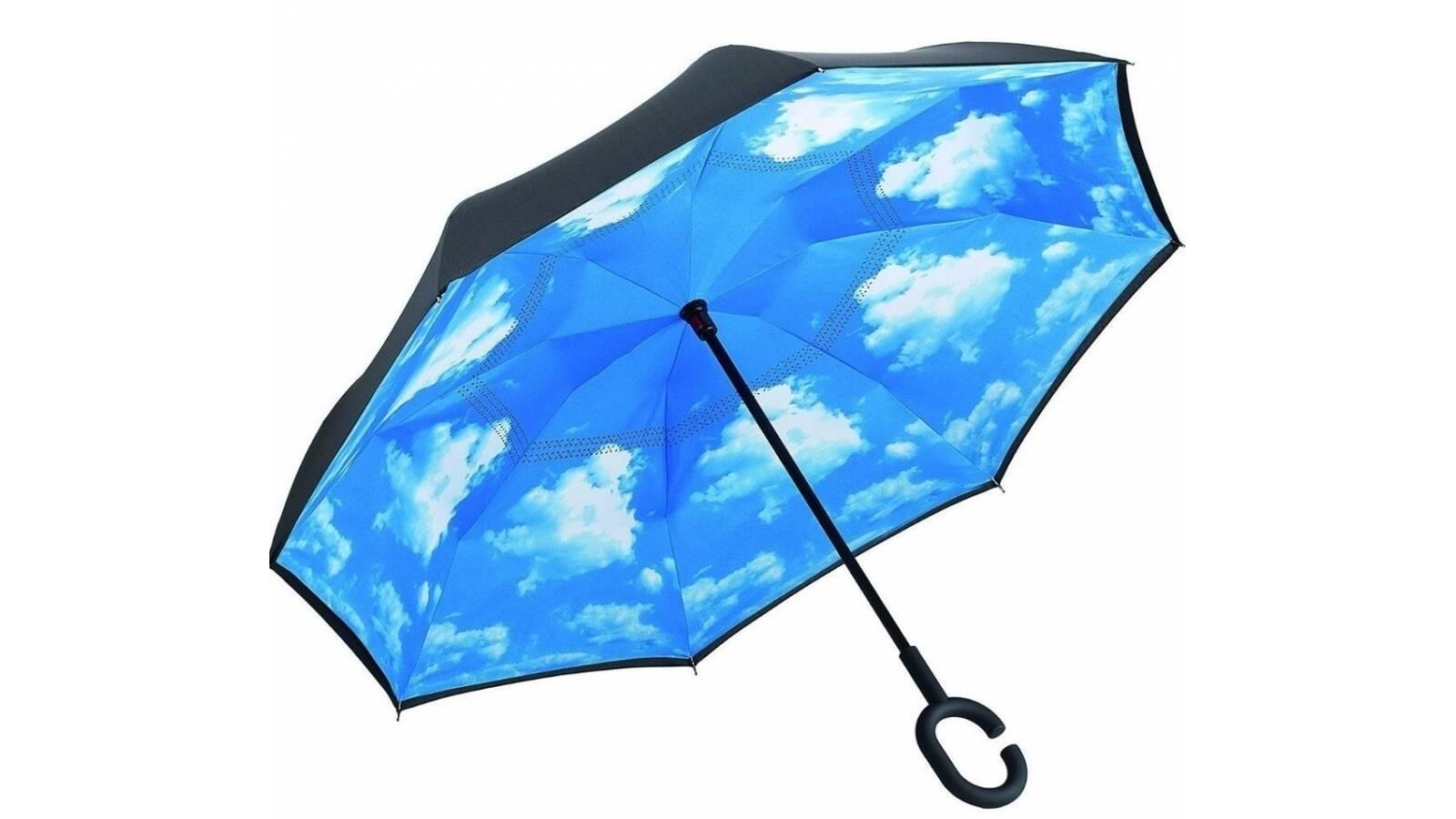 Paraguas reversible - diseño Interior cielo