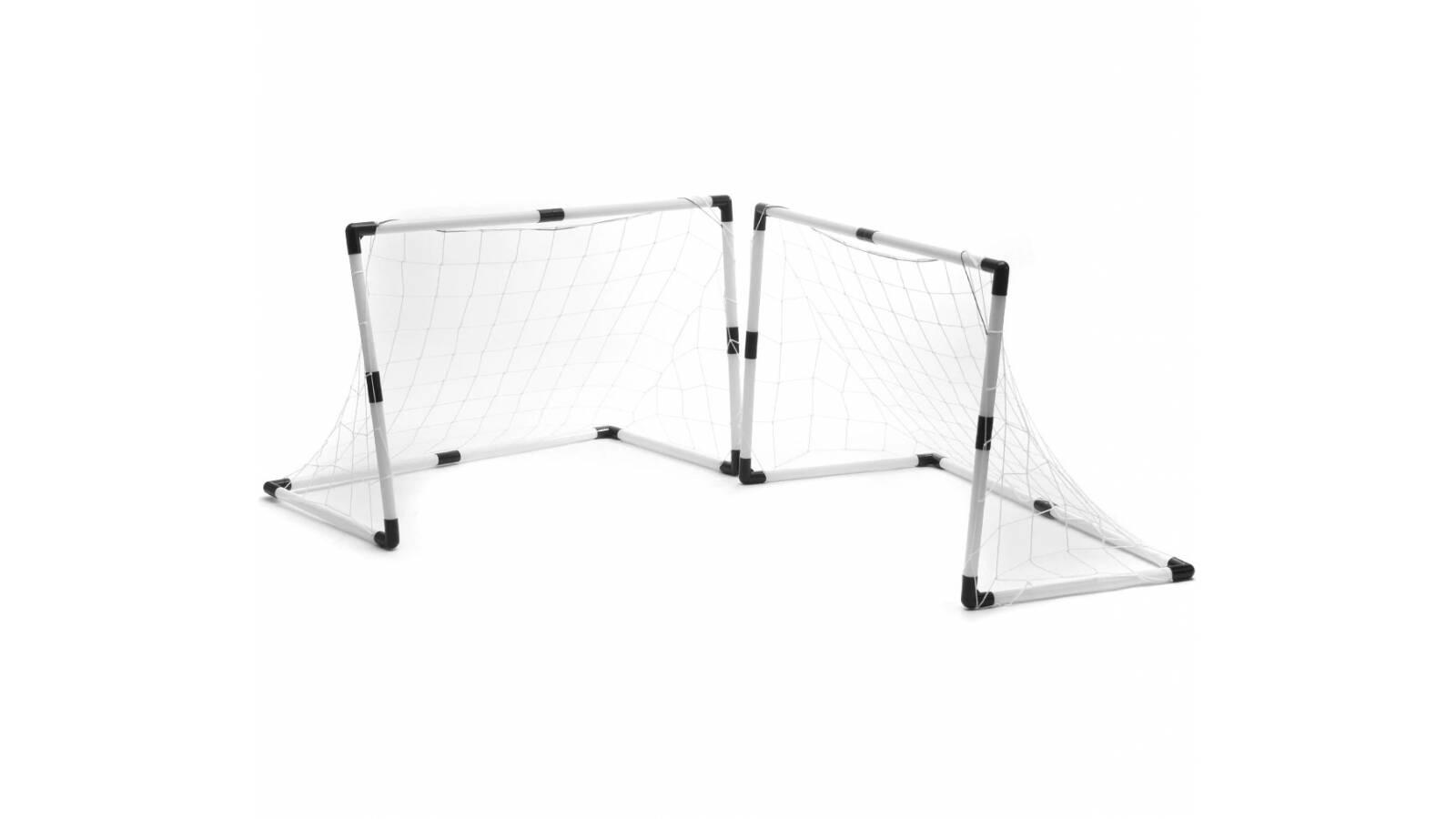 Set de futbol - arcos redes y pelota