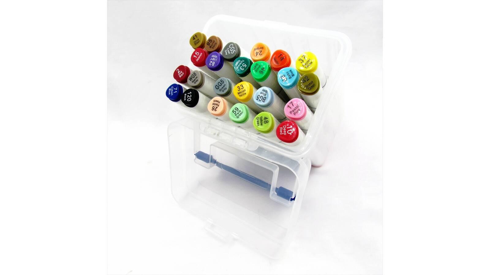 Set de 24 drypenes marcadores en caja