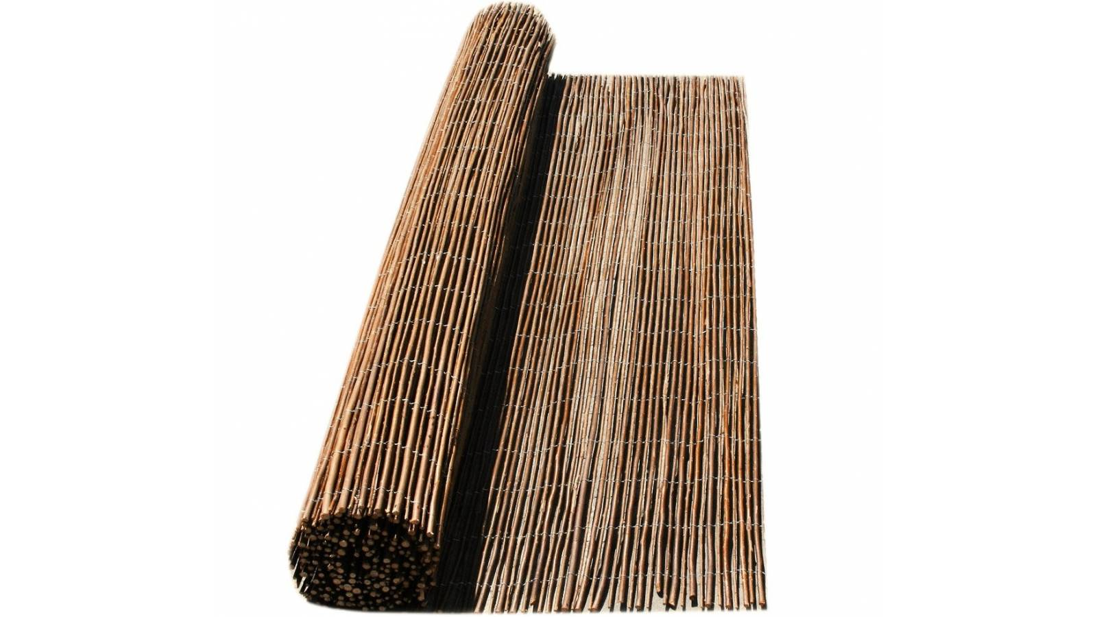 Esteras de caña entera 2 x 5m - cerco techo esterilla