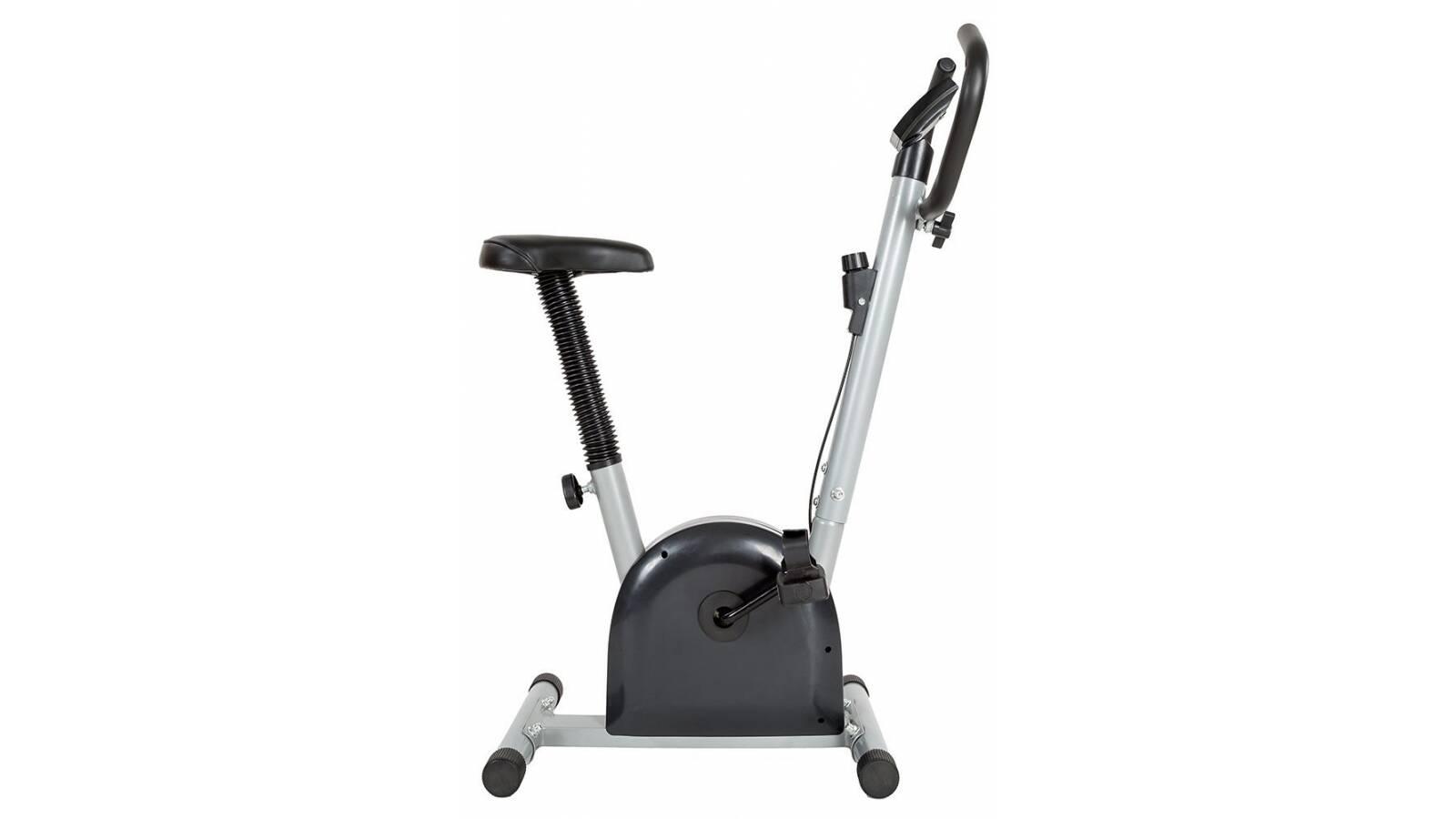 Bicicleta Fija Ergometrica Fitness monitor - Negra
