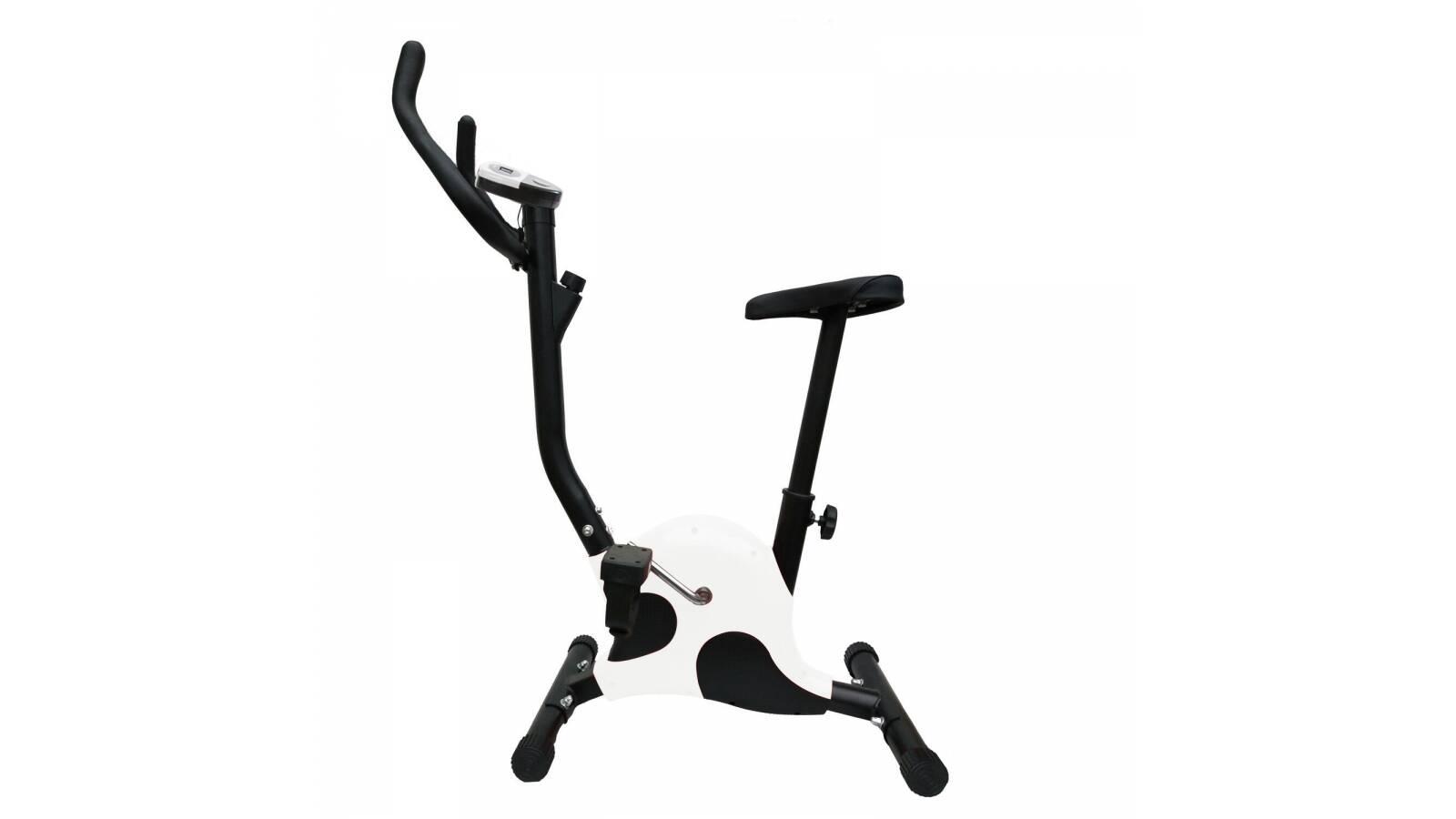 Bicicleta Fija Ergometrica Fitness monitor - Blanca