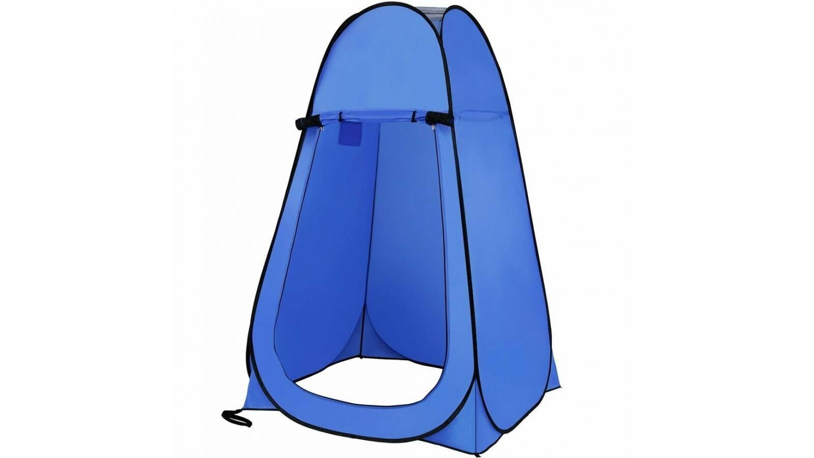 Carpa baño para camping - cambiador - alto y plegable