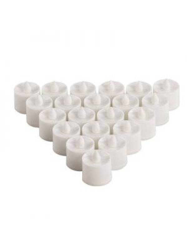 Velas Led A Pila ( Set De 24 ) Vela Electronica Decoracion