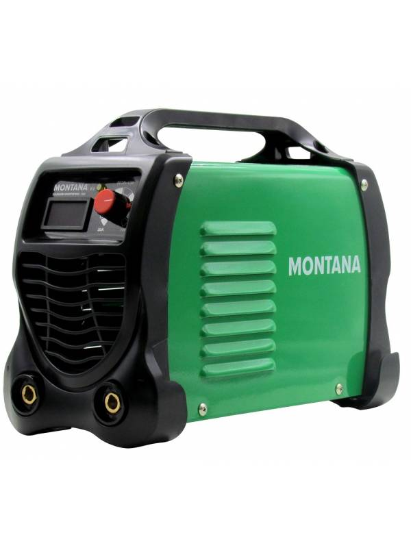 Soldadora Inverter 140 Amp Montana Con Display Digital