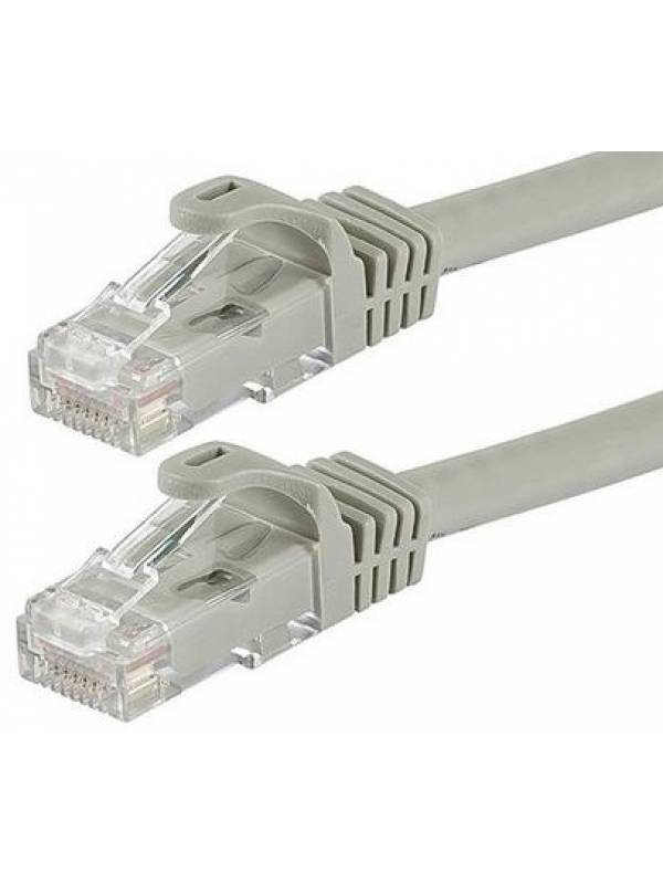 Cable de red 1m rj45 con fichas armado ethernet utp
