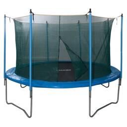 Cama elastica con red de protección 244 cm