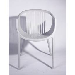 Silla modelo You para patio o comedor, diseño