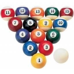 Juego de bolas de pool
