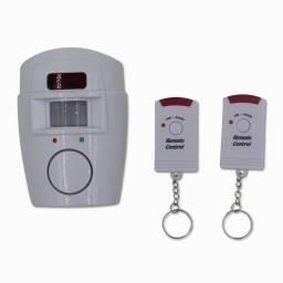 Alarma con sensor de movimiento (2 controles remotos)