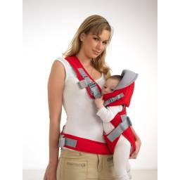 sillita mochila porta bebe child carrier AZUL o ROJA