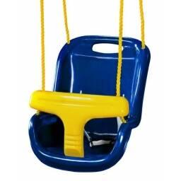 Hamaca plastica para niños (azul)