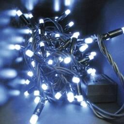 Luces LED de Navidad x 100 - luciernagas blanco frio