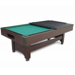 Mesa de pool con tapa para mesa - VERDE