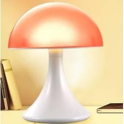 Lampara veladora LED Hongo - Luces de colores bebes niños